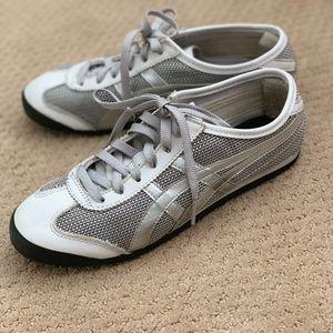 Onitsuka Tiger Sneakers / Silver Mesh